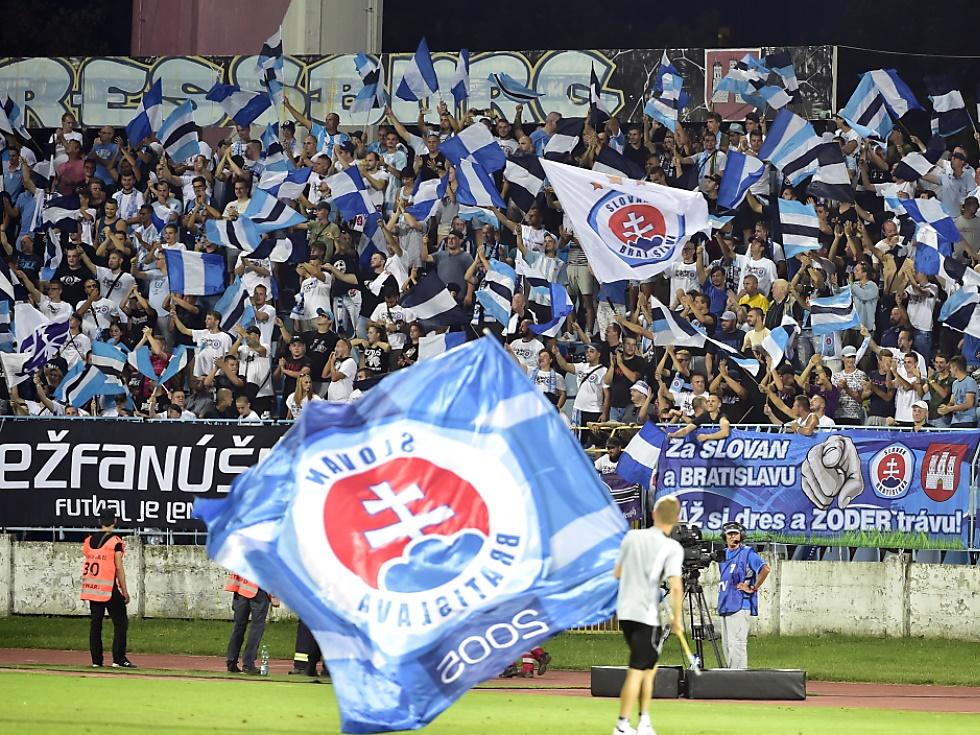 1.000 bis 1.200 Fans von Slovan Bratislava in Wien erwartet