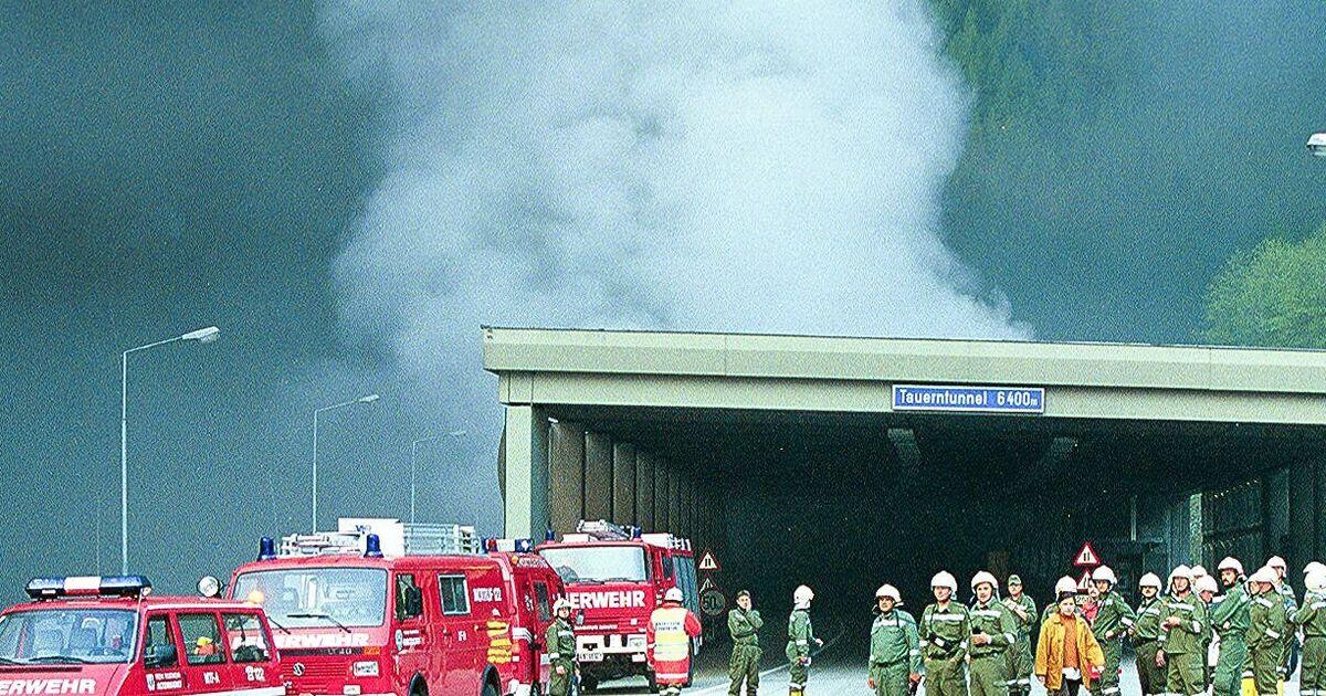 Tauerntunnel Brand