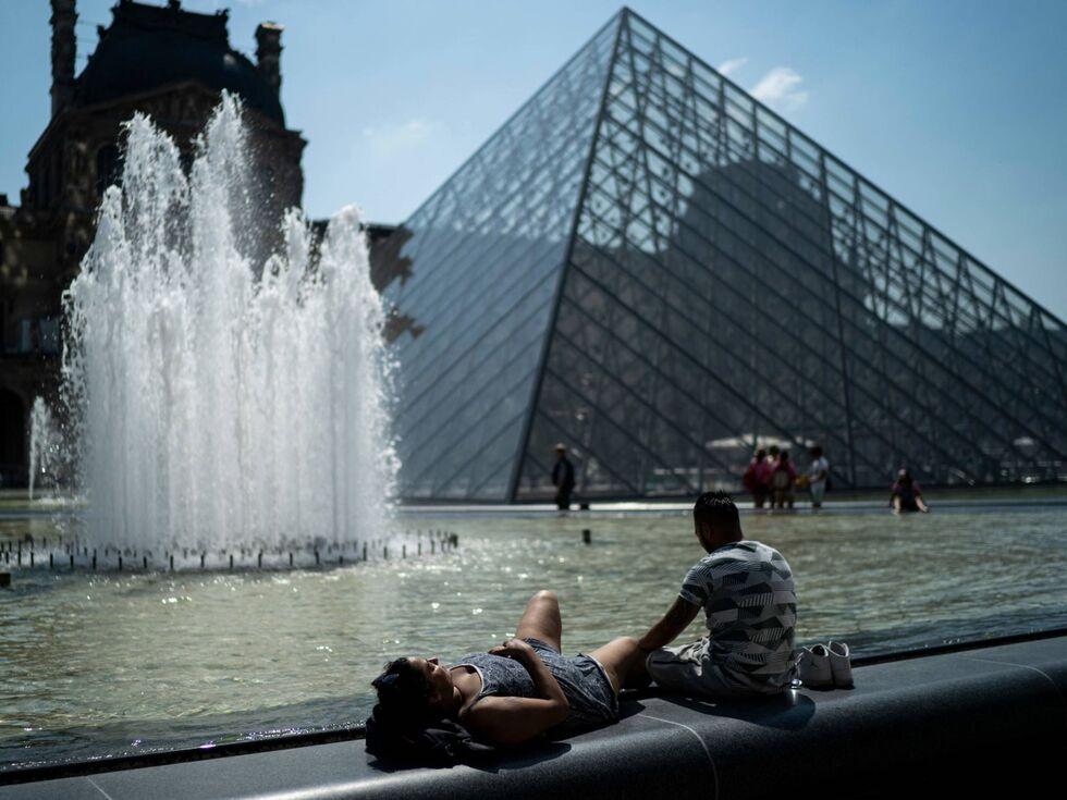 27. Juni 2019 – Ganz Paris schwitzt.