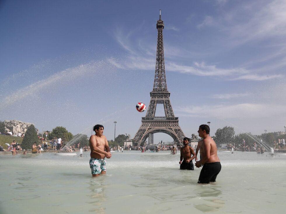 29. Juni 2019: Strahlender Sonnenschein in Paris.