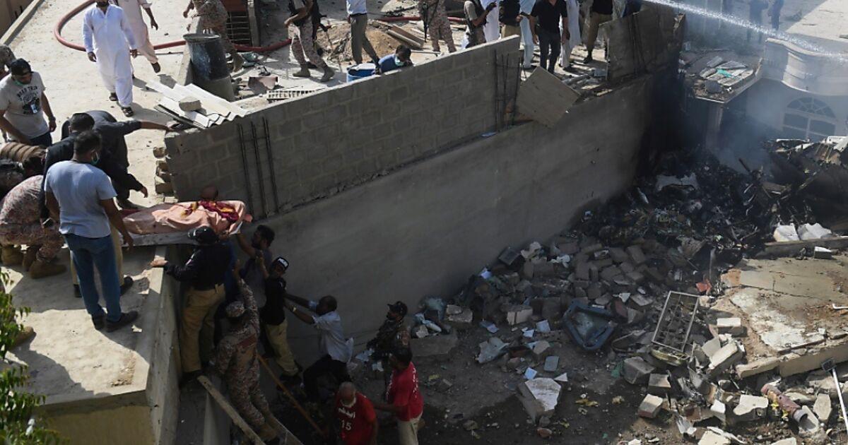 Pakistan Flugzeugabsturz