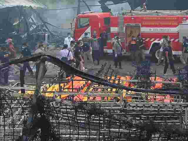 Explosion von Feuerwerksfabrik in Indonesien: 27 Tote