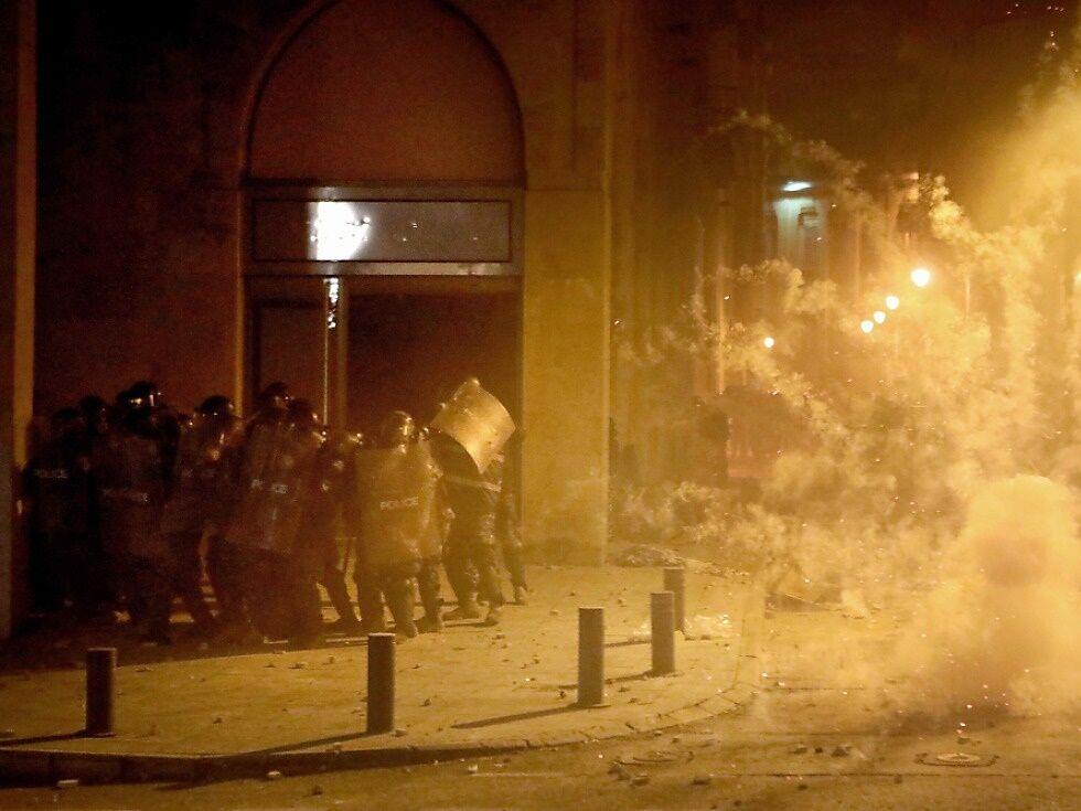 86 Verletzte bei Protesten im Libanon