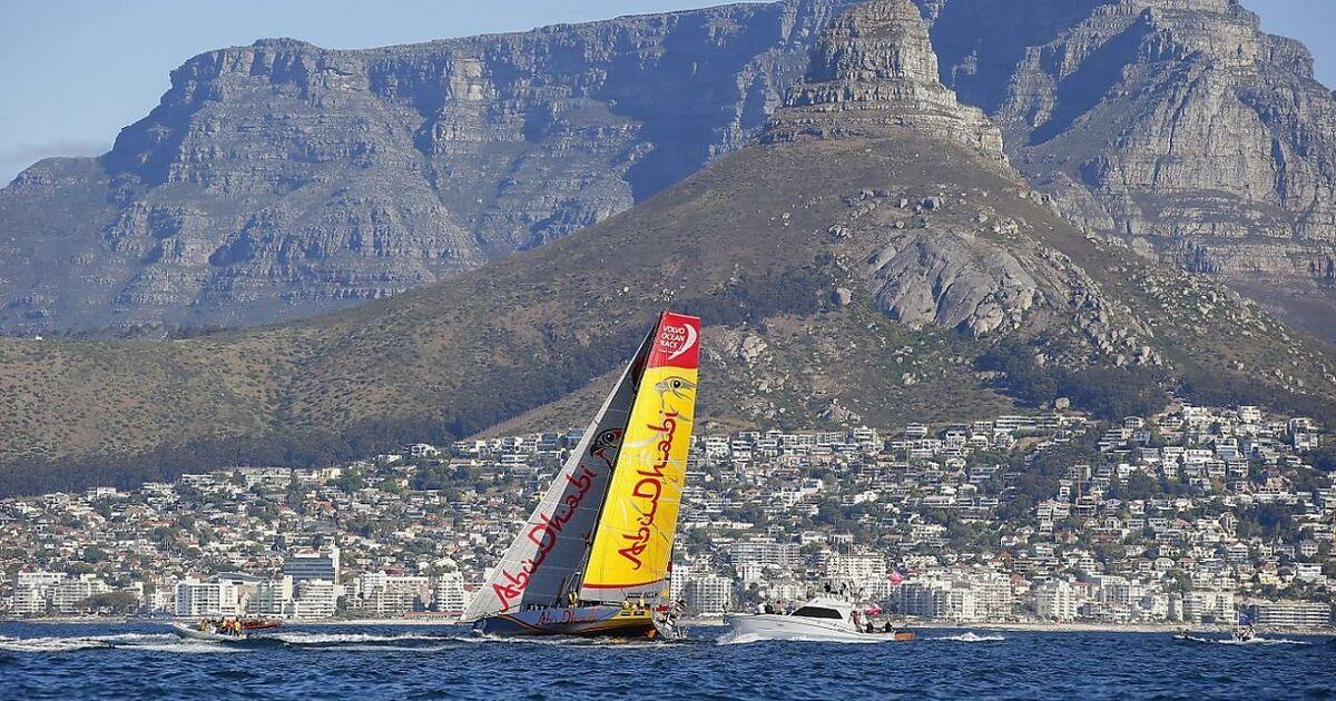 abu dhabi gewann 1 ocean race etappe hauchd nn. Black Bedroom Furniture Sets. Home Design Ideas