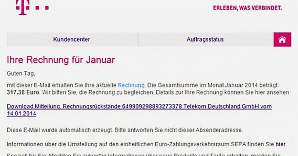 T Online Telefonrechnung