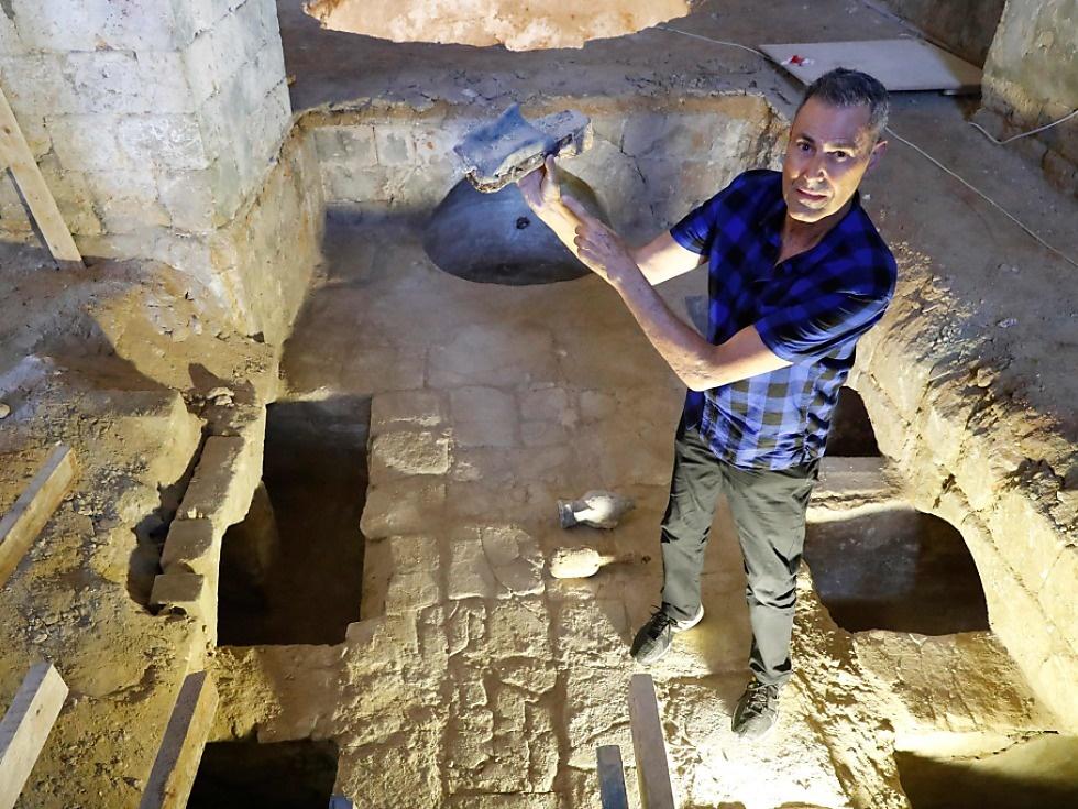 Alte Seifenfabrik in Jaffa entdeckt