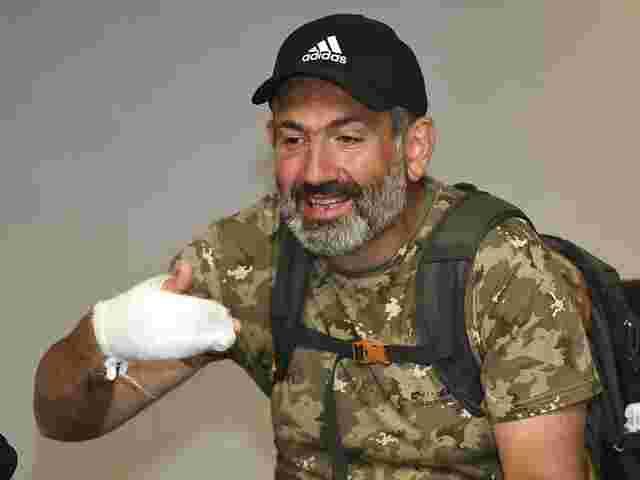 Berichte über Festnahme von Oppositionsführer Paschinian in Armenien