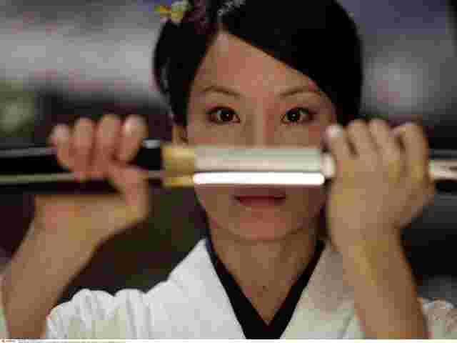 "Darstellerin Lucy Liu in ""Kill Bill Vol. I""."