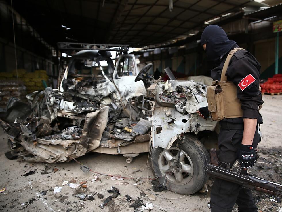 Autobombe tötet im Norden Syriens mehrere Menschen