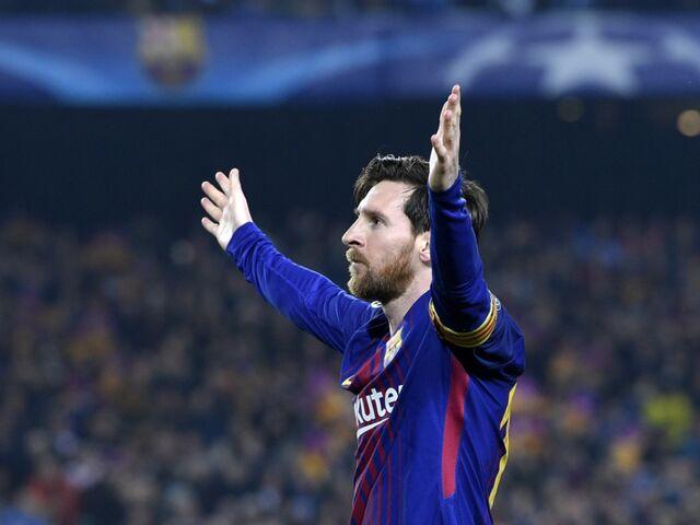 Champions League  Messi-Doppelpack bringt Barcelona ins ... fa89c8eb101
