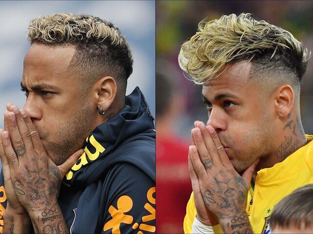 Bei Neymar Sitzt Jetzt Die Frisur Snat