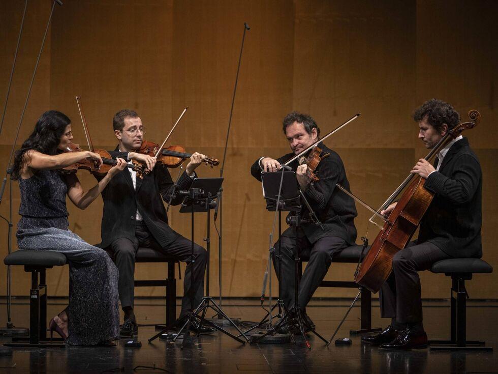 Belcea Quartet spielt Beethoven: Ein Hörabenteuer, auch mit Mund-Nase-Schutz