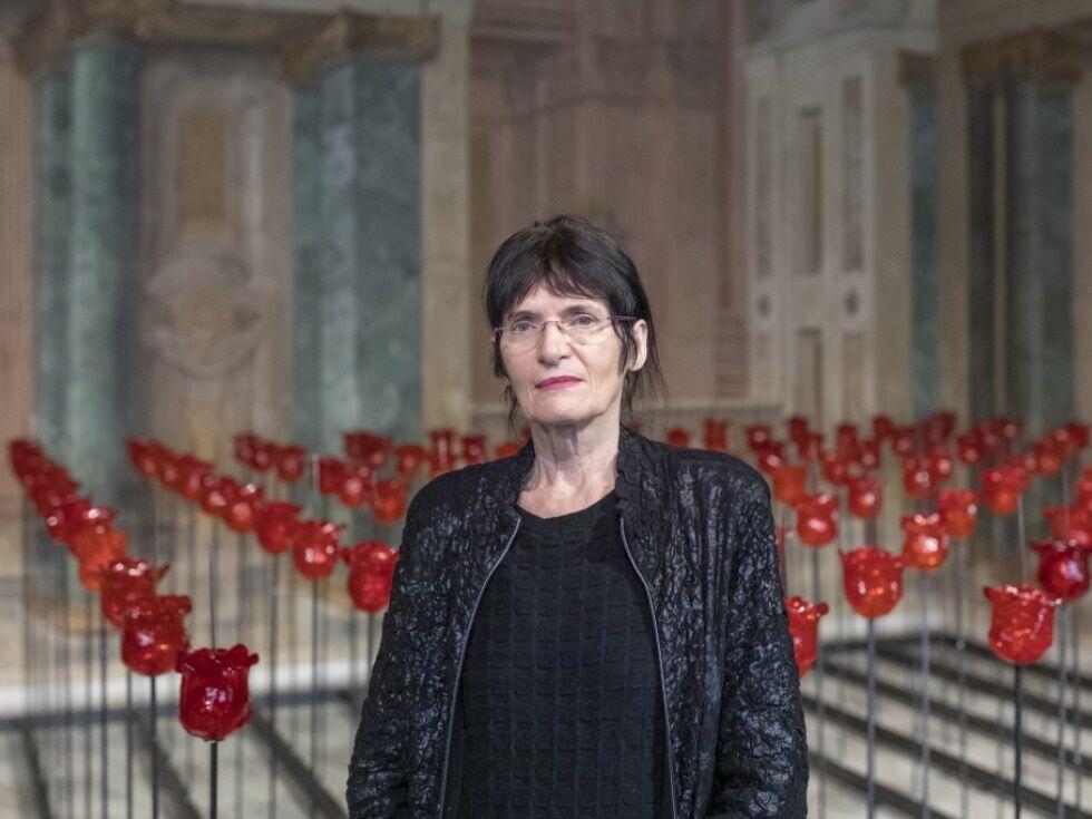 Belvedere zeigt Renate Bertlmann mit Messer-Garten