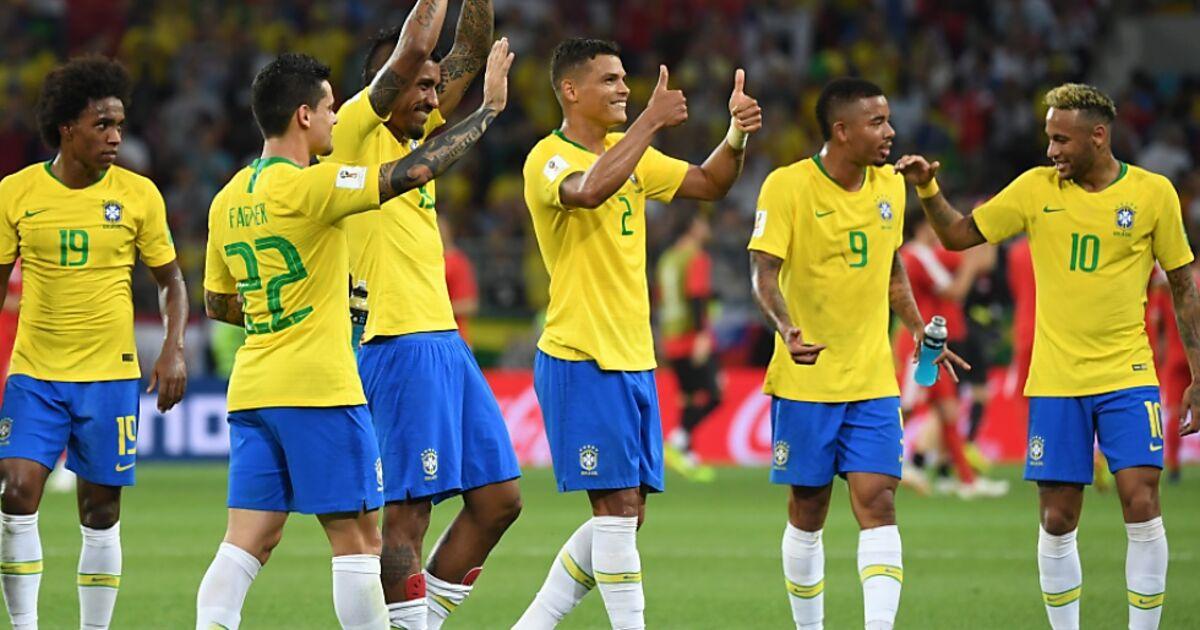 Brasilien Gegen Serbien