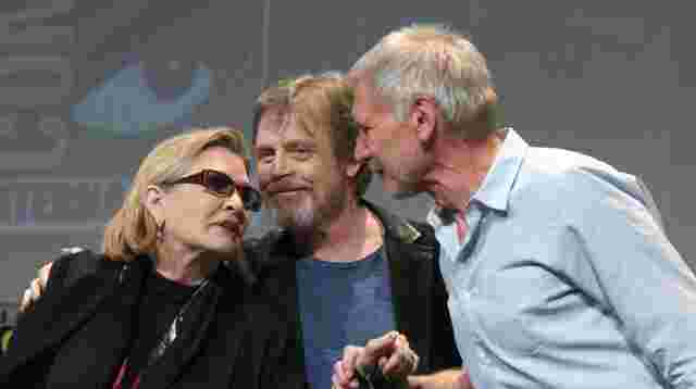 "Carrie Fisher schildert Affäre mit Harrison Ford am ""Star Wars""-Set"