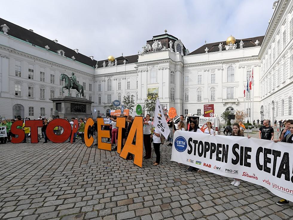 CETA-Gegner machen immer noch gegen Pakt mobil