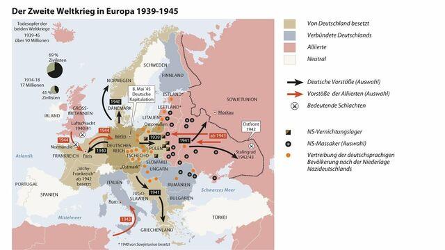 Stalingrad Karte Europa.Chronologie Des Zweiten Weltkriegs Sn At