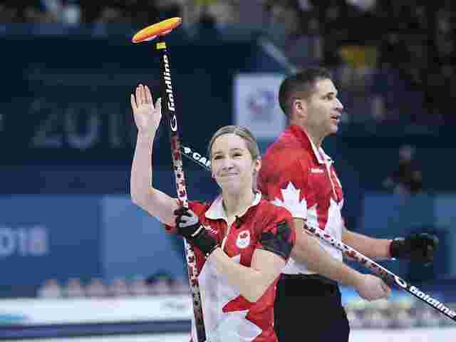 Kanadas Curler erreichen Finale im Mixed-Wettbewerb