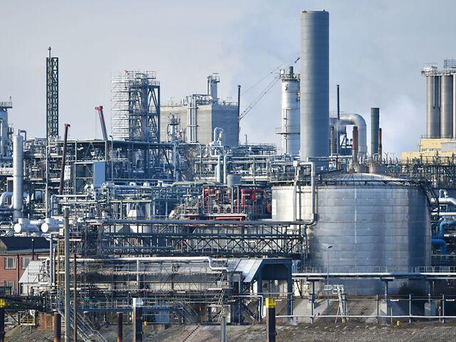Industrieanlage von BASF