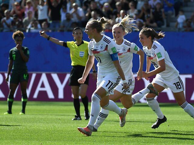 Deutschland Norwegen Im Viertelfinale Der Frauen Fussball Wm