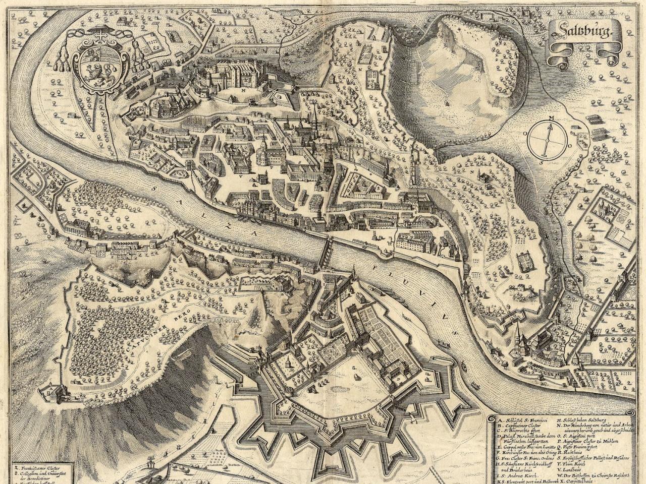 Die unbezwungene Festungsstadt Salzburg
