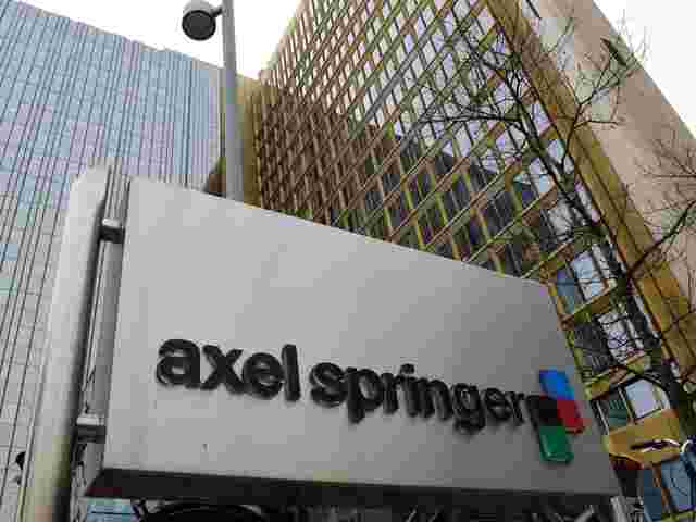 Digitalsparte treibt Geschäft von Axel Springer an