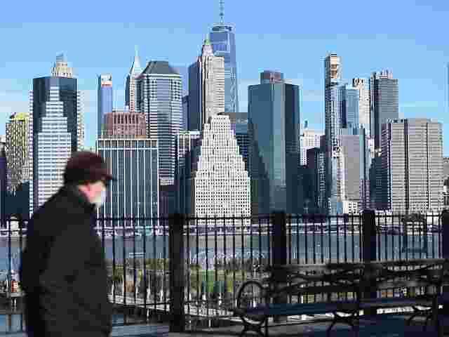 Derzeit verdoppelten sich die Zahlen in New York alle drei Tage