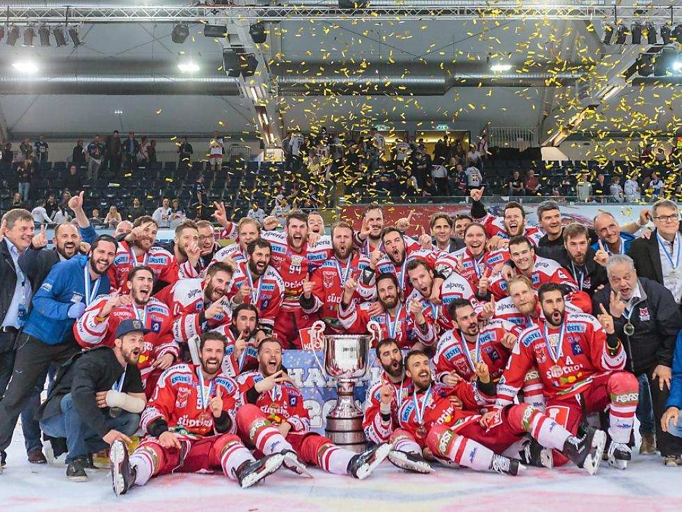 Heimische Eishockeyliga gab Startschuss für die neue Saison