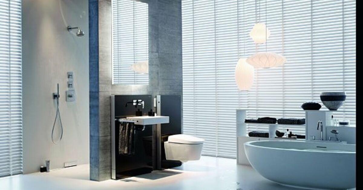 ein badezimmer zum wohlf hlen. Black Bedroom Furniture Sets. Home Design Ideas