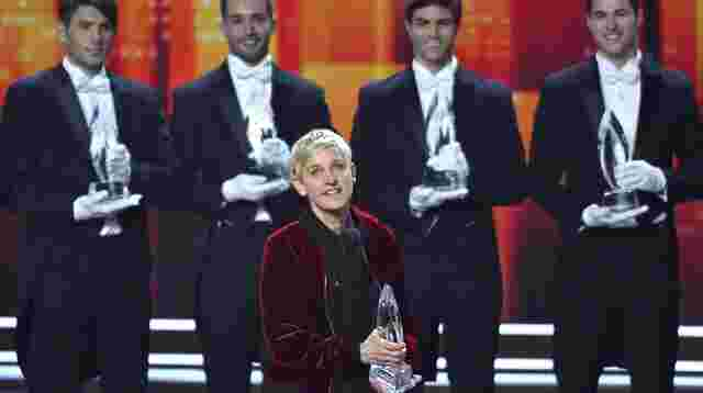 Ellen DeGeneres räumt bei People's Choice Awards ab.