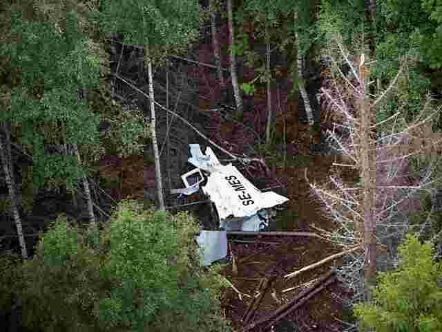 Flugzeugabsturz Schweden
