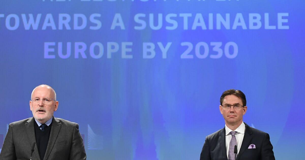 EU-Kommission will nachhaltigeres Europa bis 2030