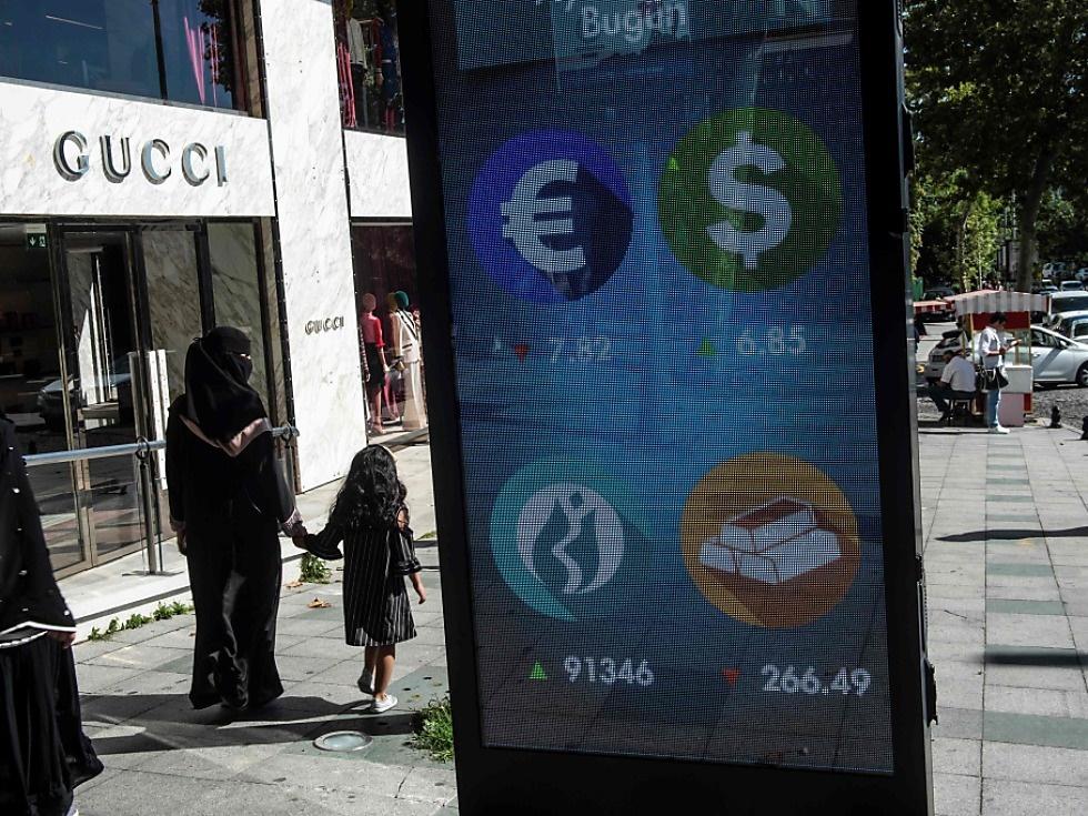Euro und Lira wieder unter Druck