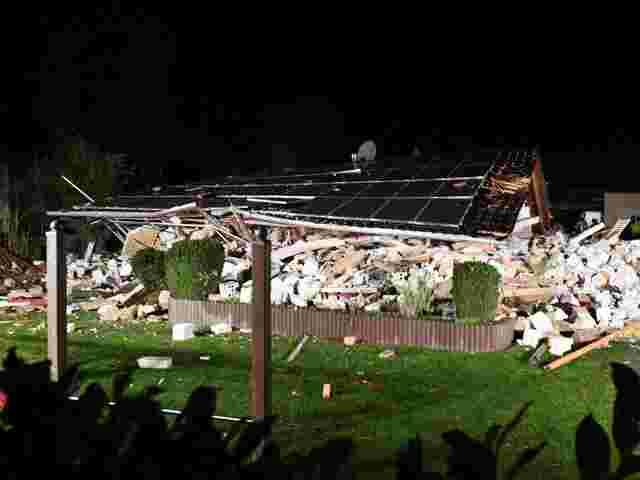 Haus in Spandau eingestürzt