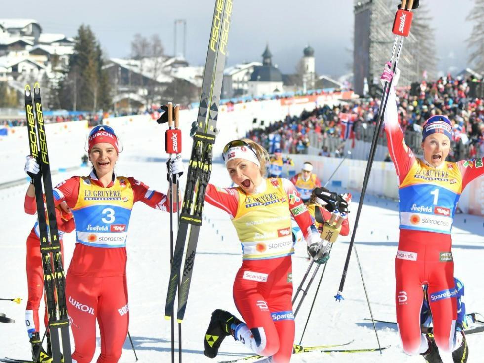 Favoritensieg für Therese Johaug im Langlauf-Skiathlon