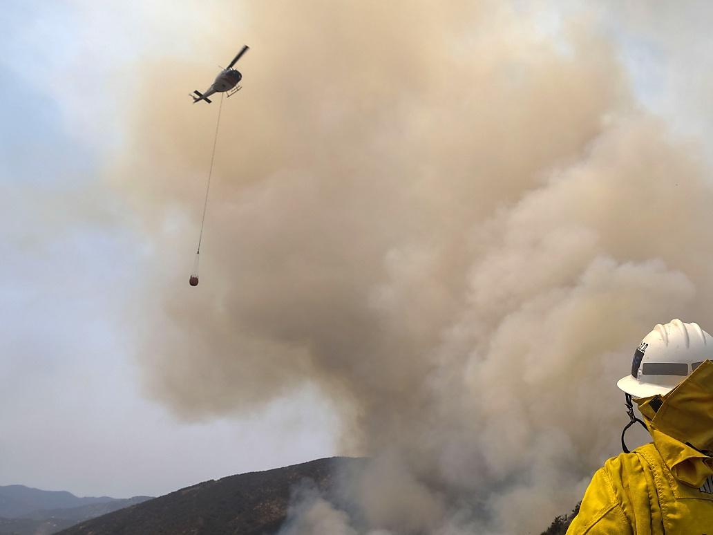 Feuerwehrmann bei Wald-Löscharbeiten in Kalifornien getötet