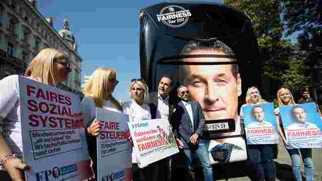 "Heinz-Christian Strache startet die ""Fairness-Tour""."