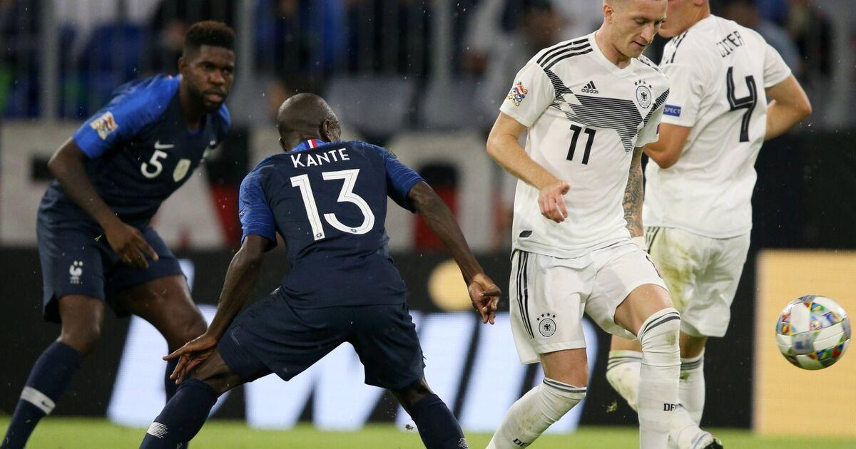Frankreich Deutschland Nations League