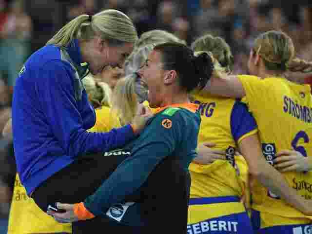 Frankreich und Schweden im Halbfinale