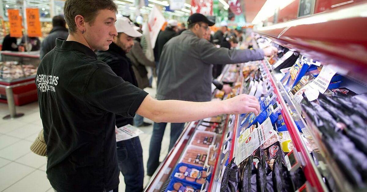 Französische Supermärkte