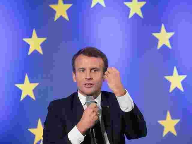 Emmanuel Macron erhält Aachener Karlspreis