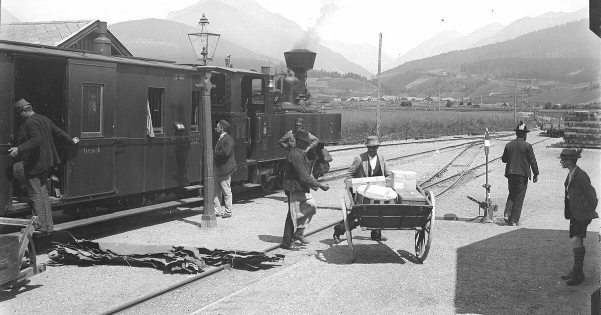 Führt uns die Murtalbahn nach Salzburg? Mitnichten!