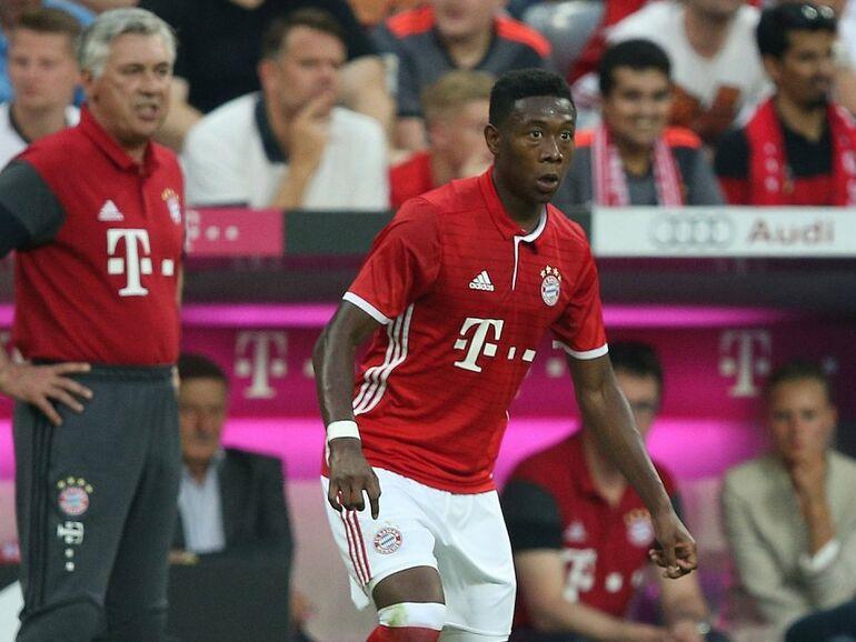 Fussball David Alaba Geht Mit Bayern Munchen Am Montag Auf Us Tour