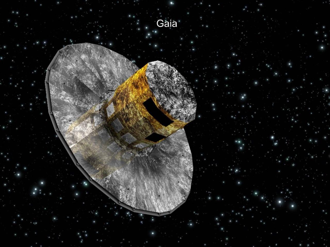 Satellit Gaia revolutioniert die Sternenkarte