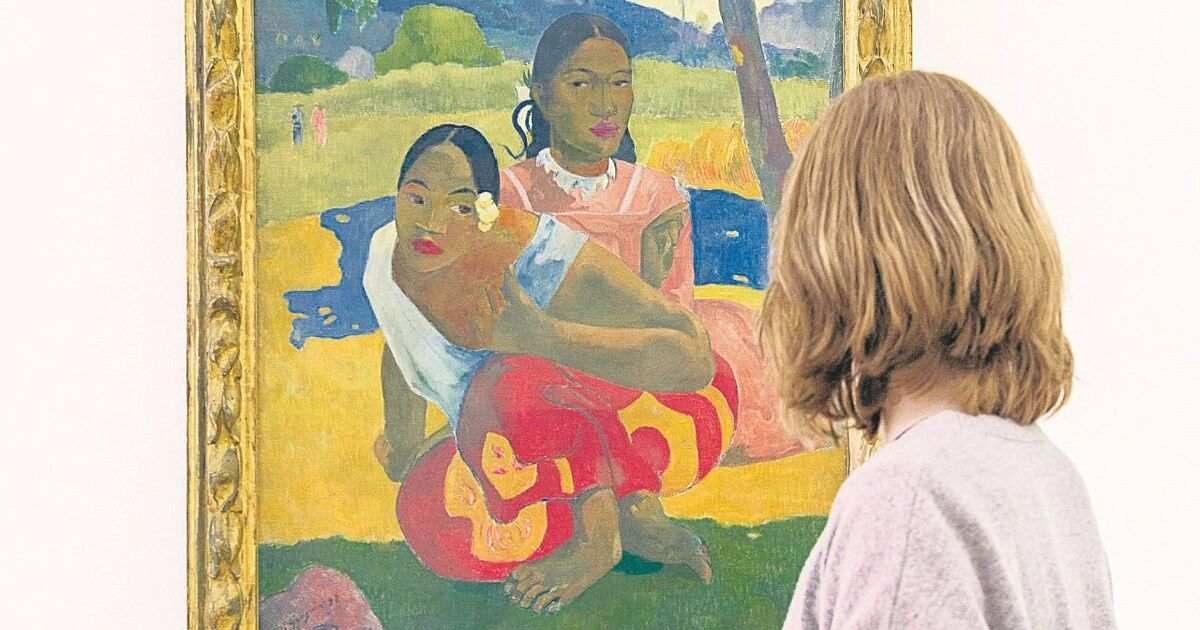 gauguins nafea angeblich teuerstes bild der welt. Black Bedroom Furniture Sets. Home Design Ideas