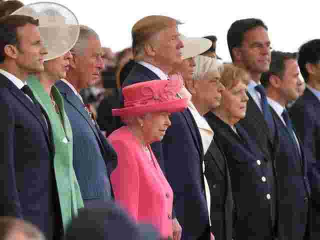 Merkel und Trump treffen sich doch noch - für wenige Minuten