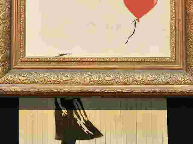 Banksy-Bild bei Burda in Baden-Baden - Kultur