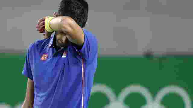 Goldfavorit Djokovic bereits in erster Tennis-Runde out