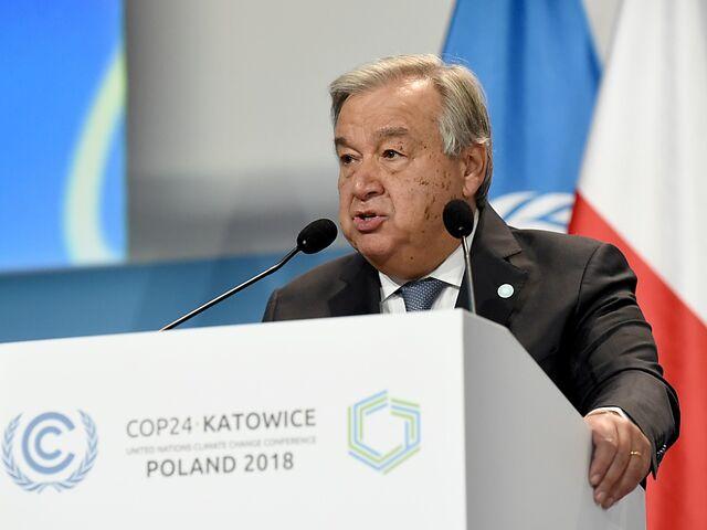 Mahnende Worte von UNO-Generalsekretär Guterres