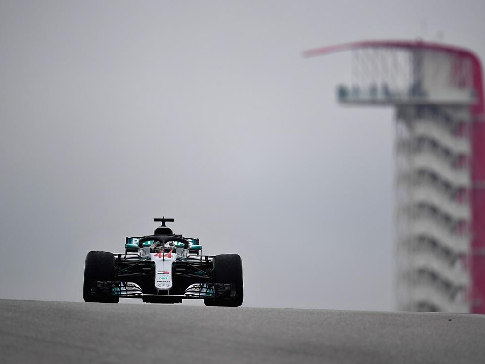 Hamilton beim US-Auftakt Schnellster - Strafe für Vettel